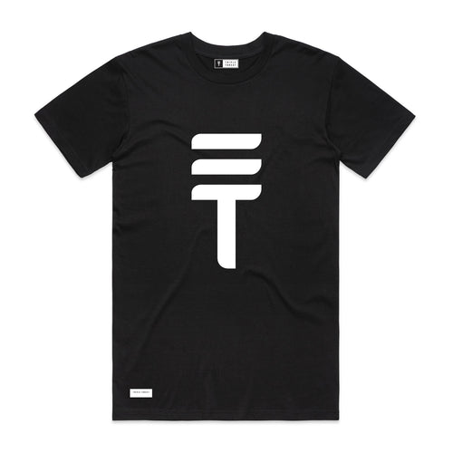 BIG LOGO T-SHIRT - BLACK