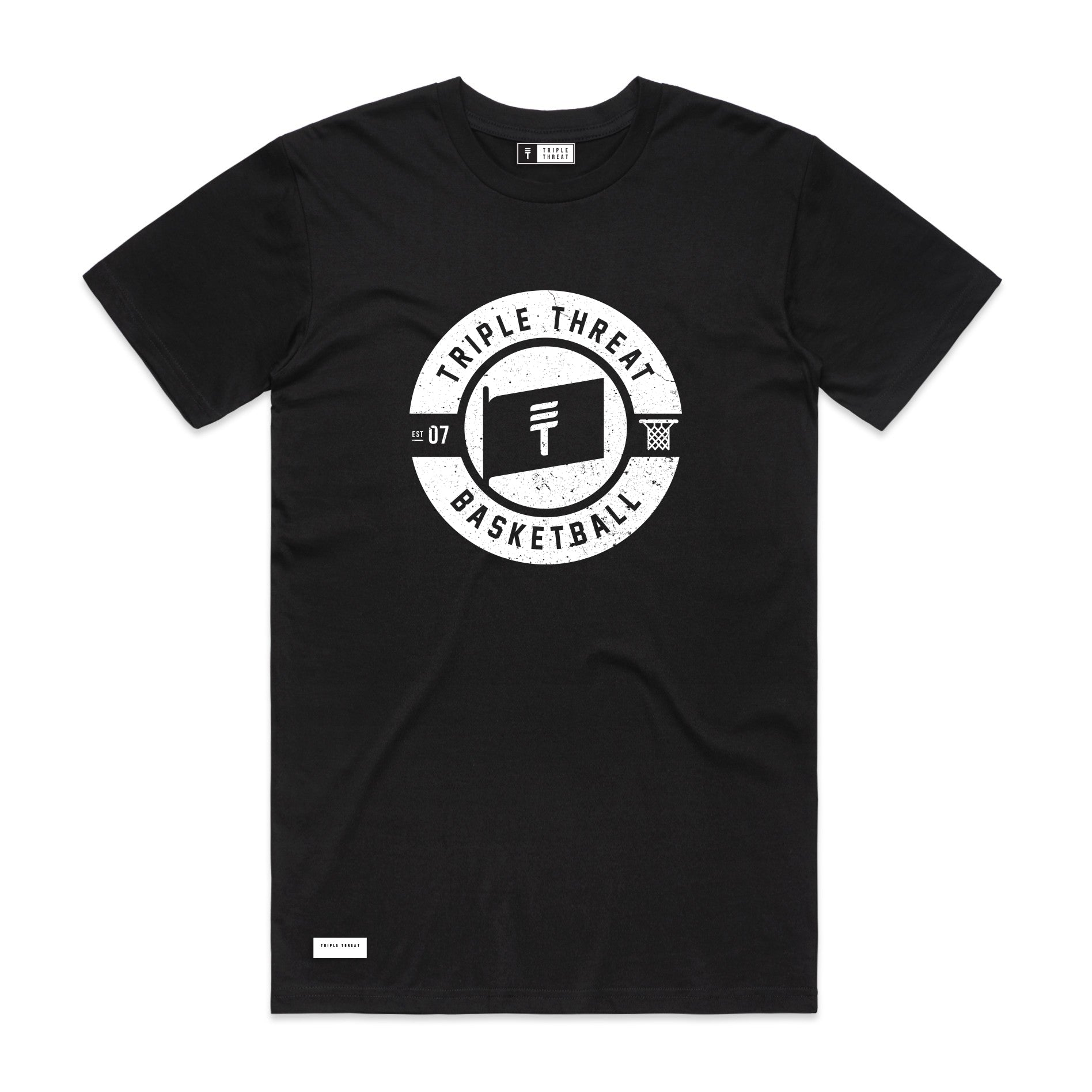 FLAG T-SHIRT - BLACK