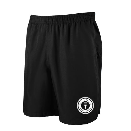 TT SHORTS - BLACK/WHITE