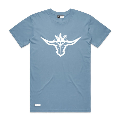 BUFFALO T-SHIRT - LIGHT BLUE