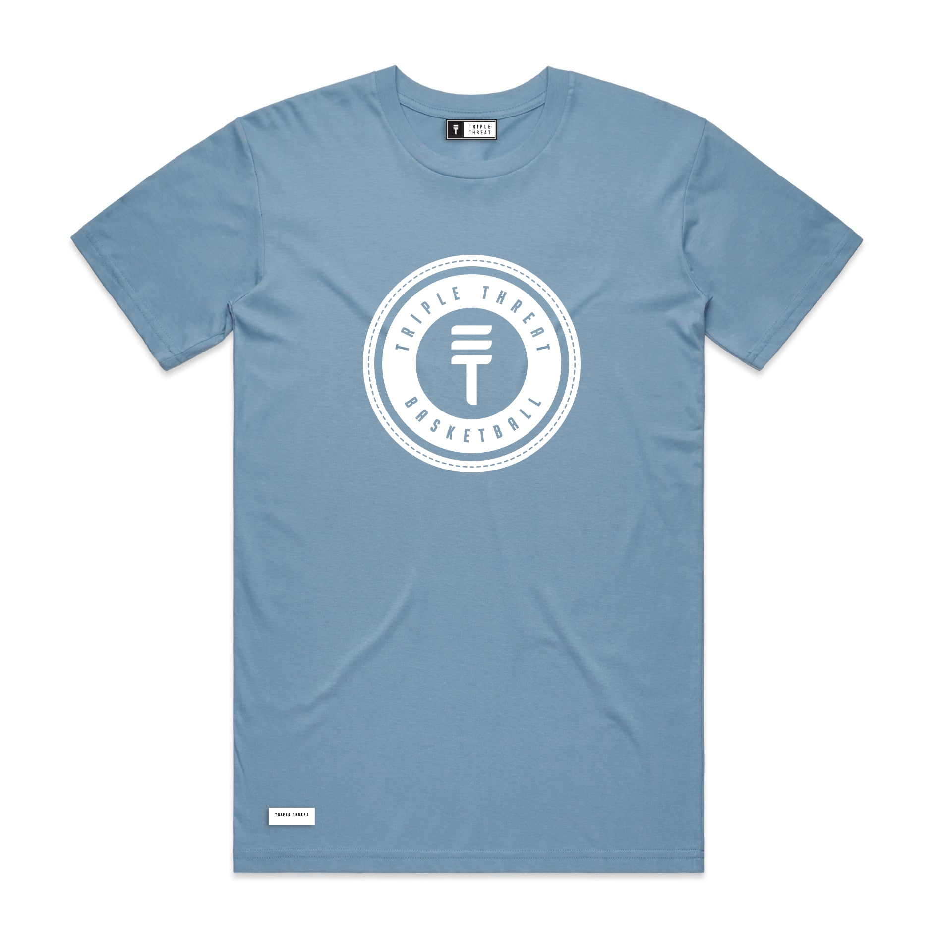 LOGO T-SHIRT - LIGHT BLUE