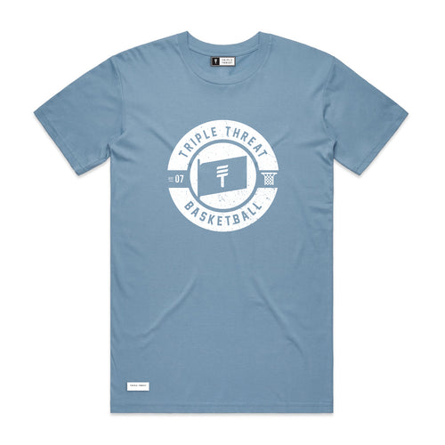 FLAG T-SHIRT - LIGHT BLUE