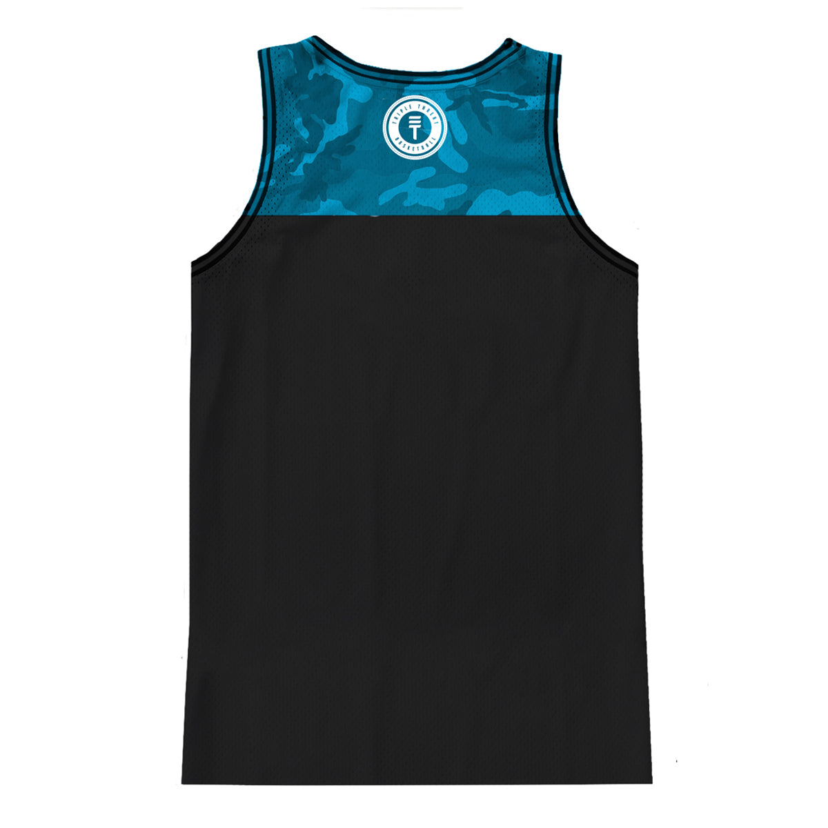 CAMOUFLAGE SINGLET - BLUE
