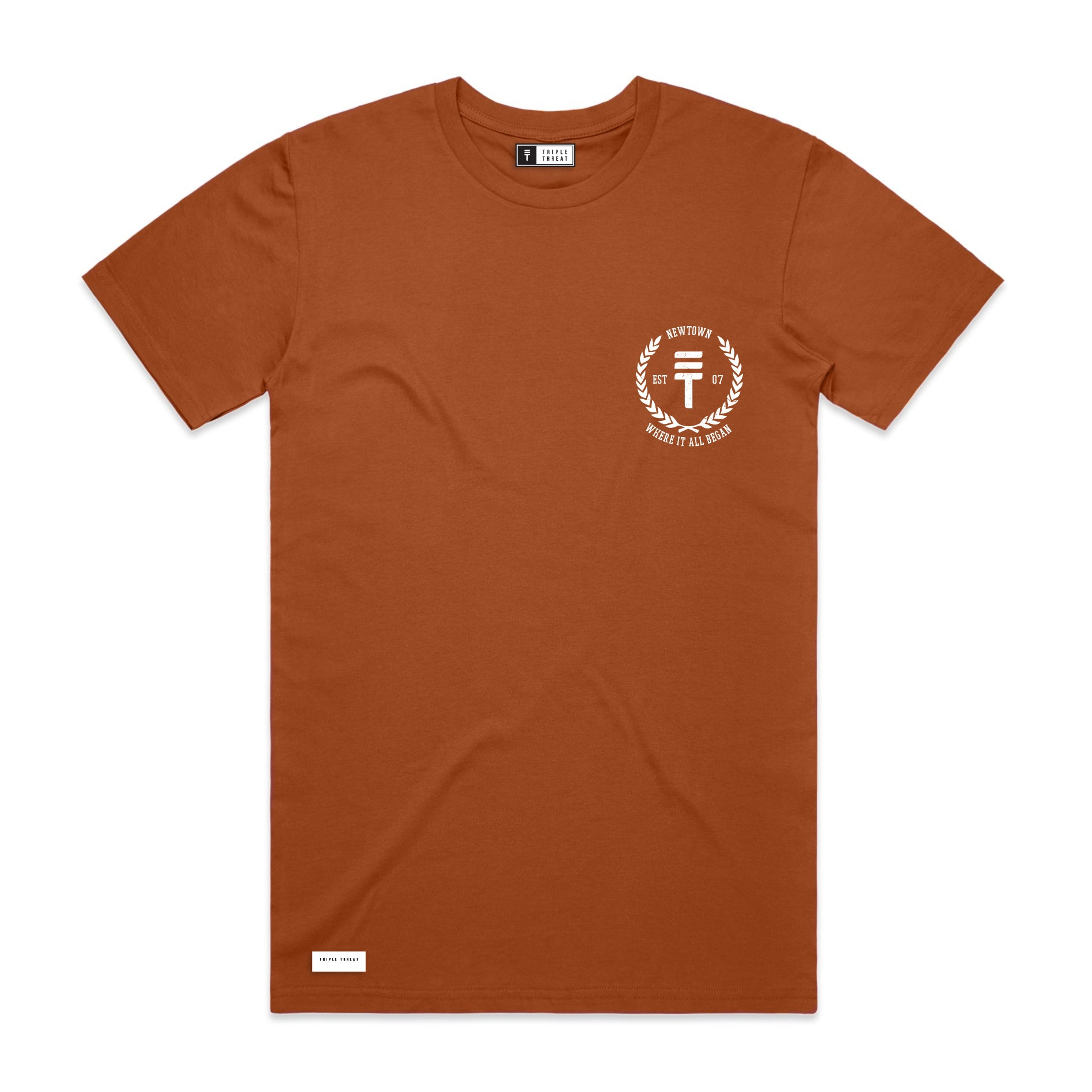 ORIGIN T-SHIRT - COPPER
