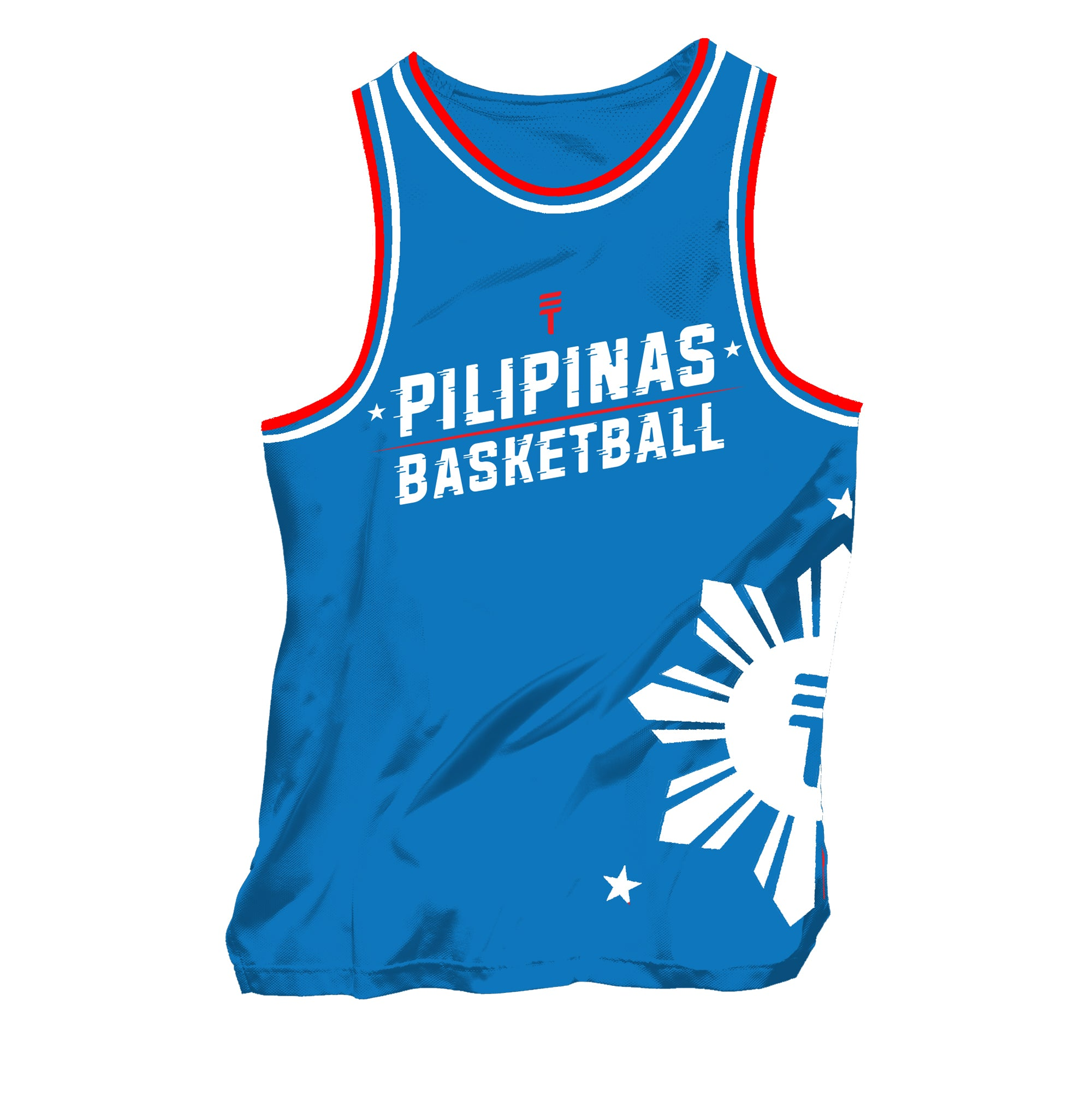 PILIPINAS SINGLET - BLUE/WHITE/RED