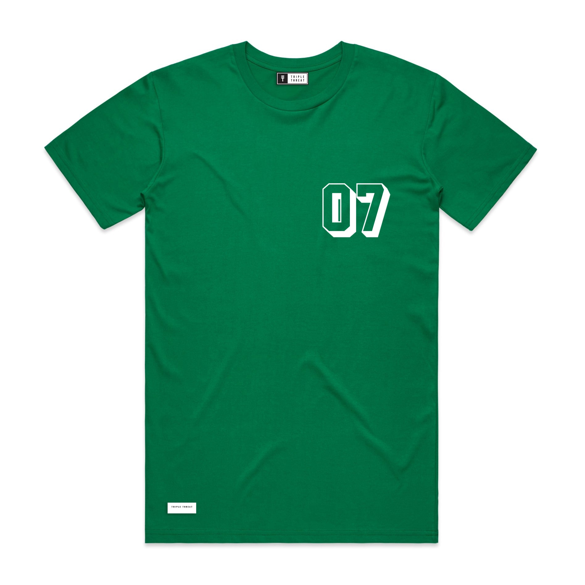 ALL STAR T-SHIRT - GREEN & WHITE
