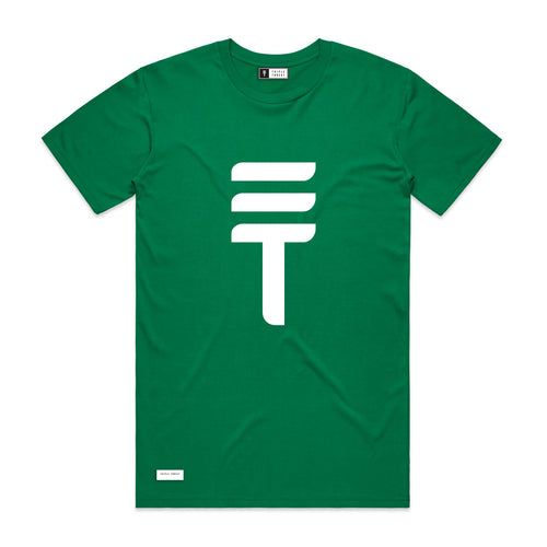 BIG LOGO T-SHIRT - GREEN
