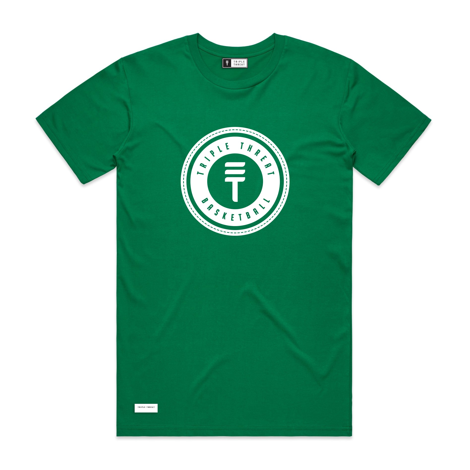 LOGO T-SHIRT - GREEN