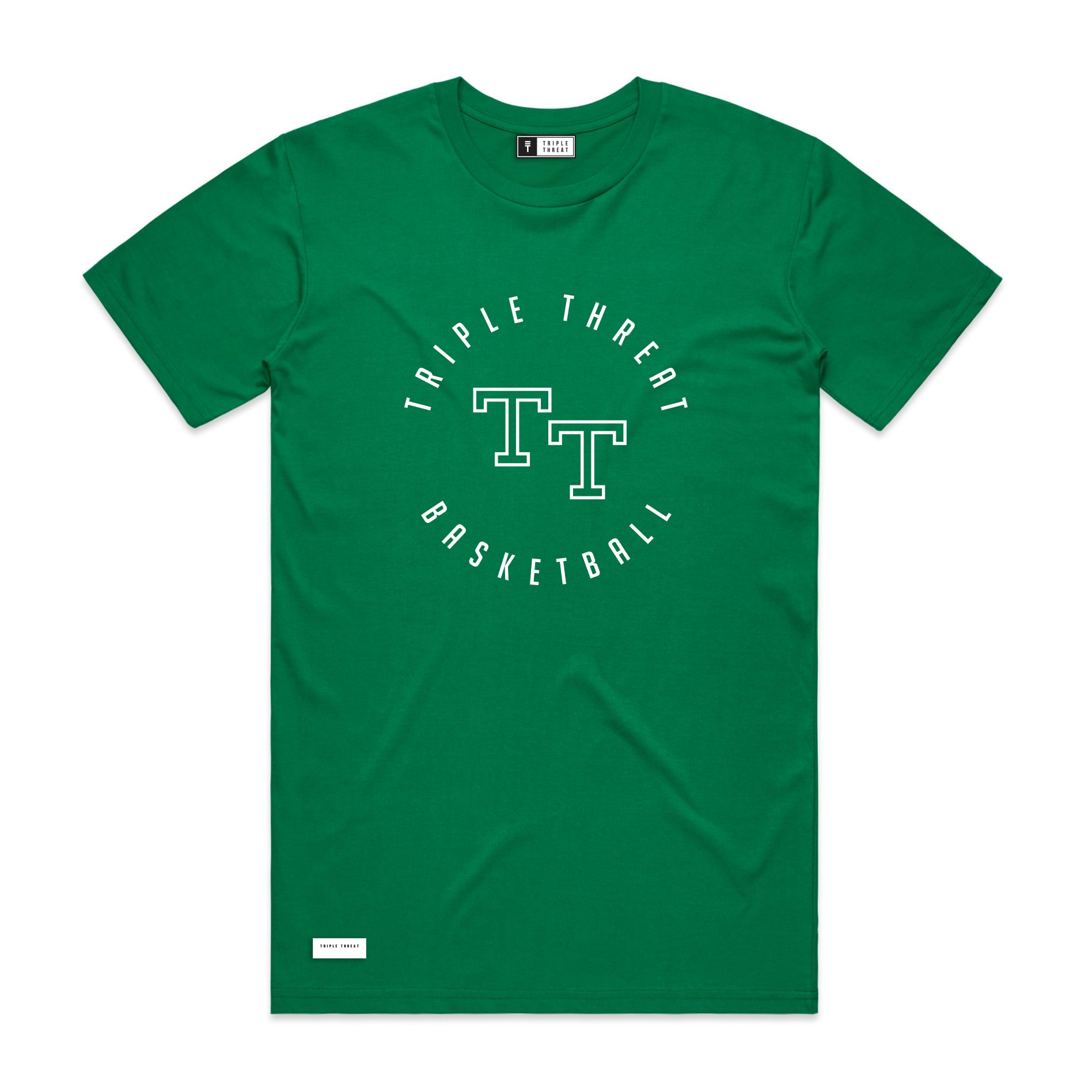 ROUND LOGO T-SHIRT - GREEN