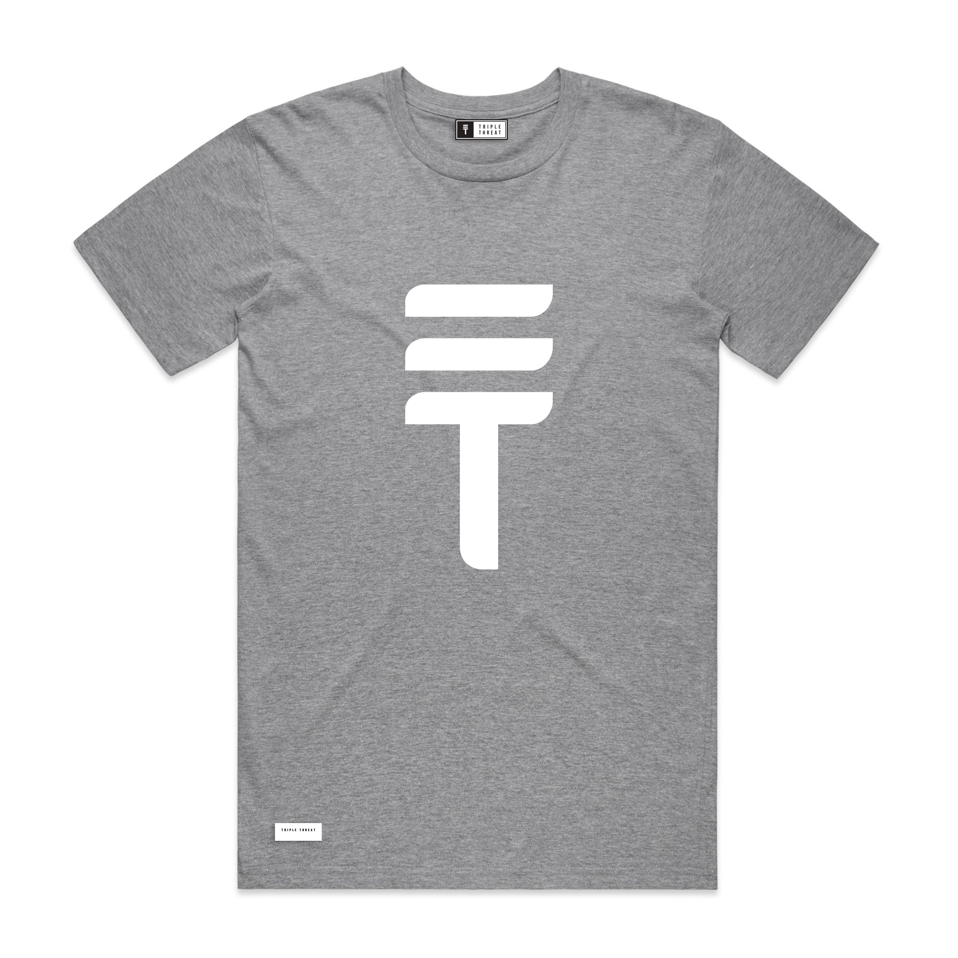 BIG LOGO T-SHIRT - GREY