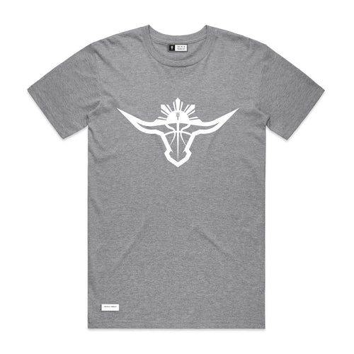 BUFFALO T-SHIRT - GREY