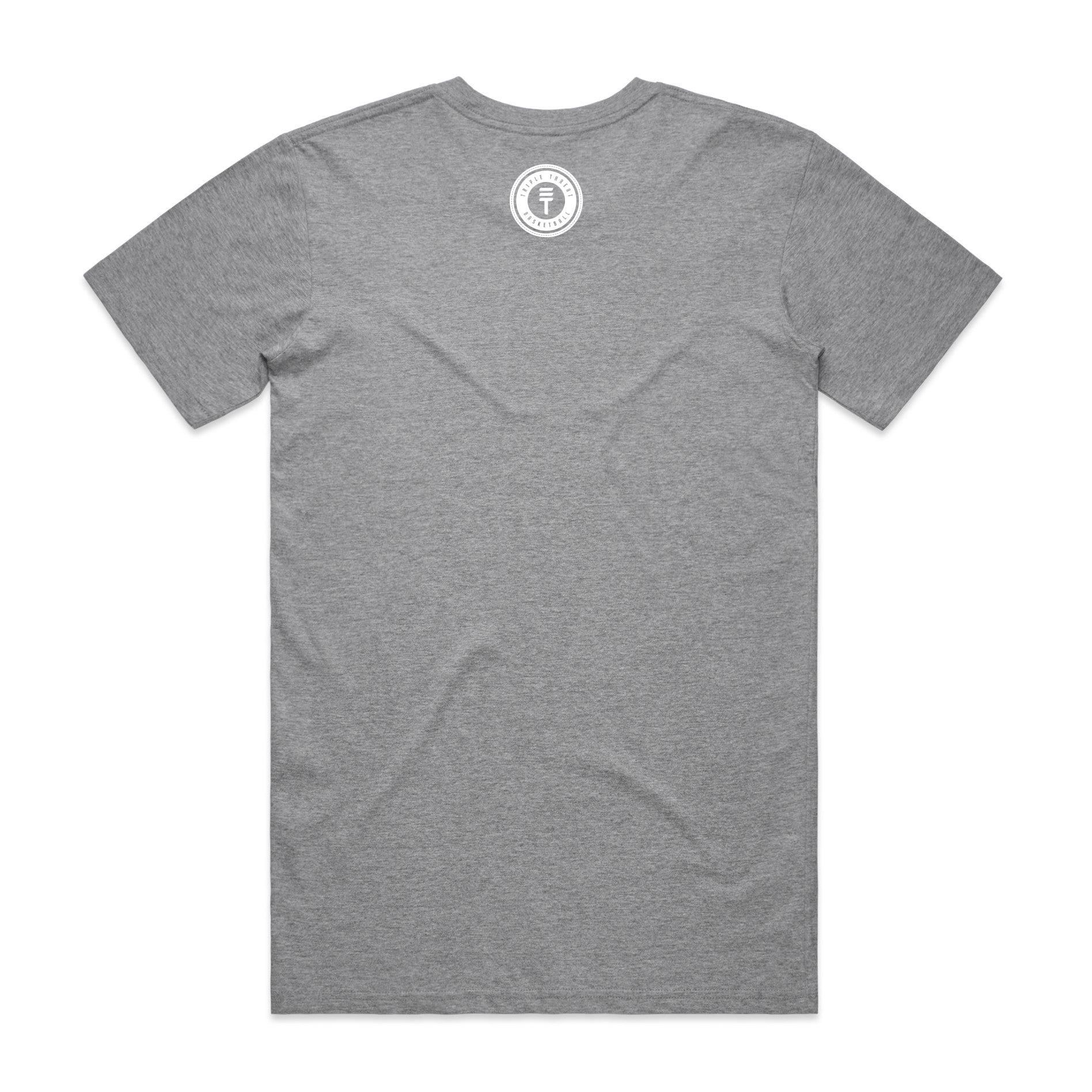 ROUND LOGO T-SHIRT - GREY