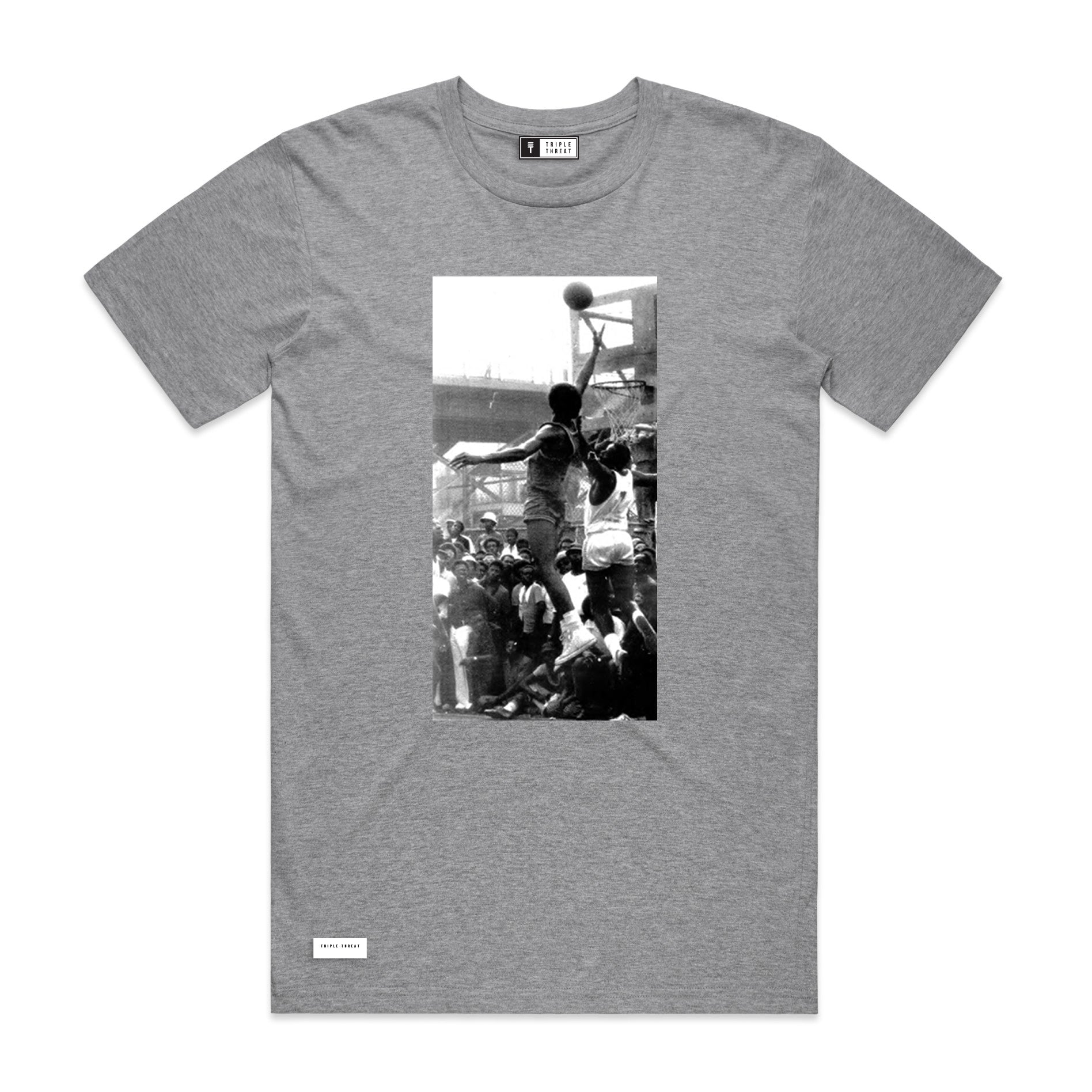 SCHOOLYARD T-SHIRT - GREY