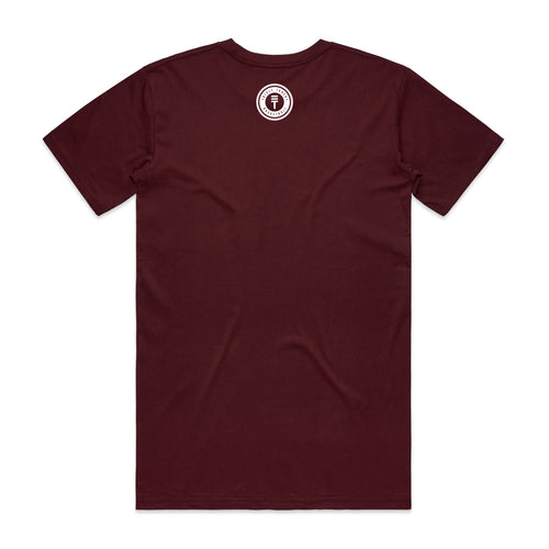 BIG LOGO T-SHIRT - MAROON