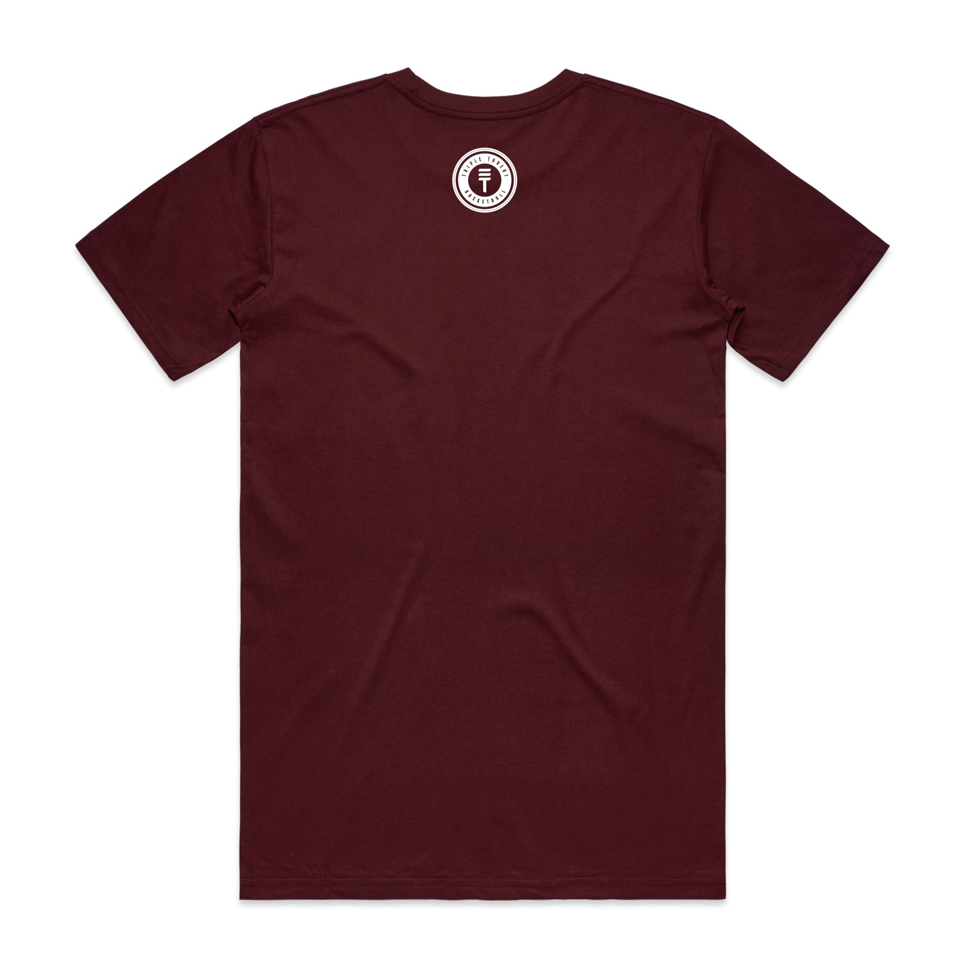 NEWTOWN T-SHIRT - MAROON