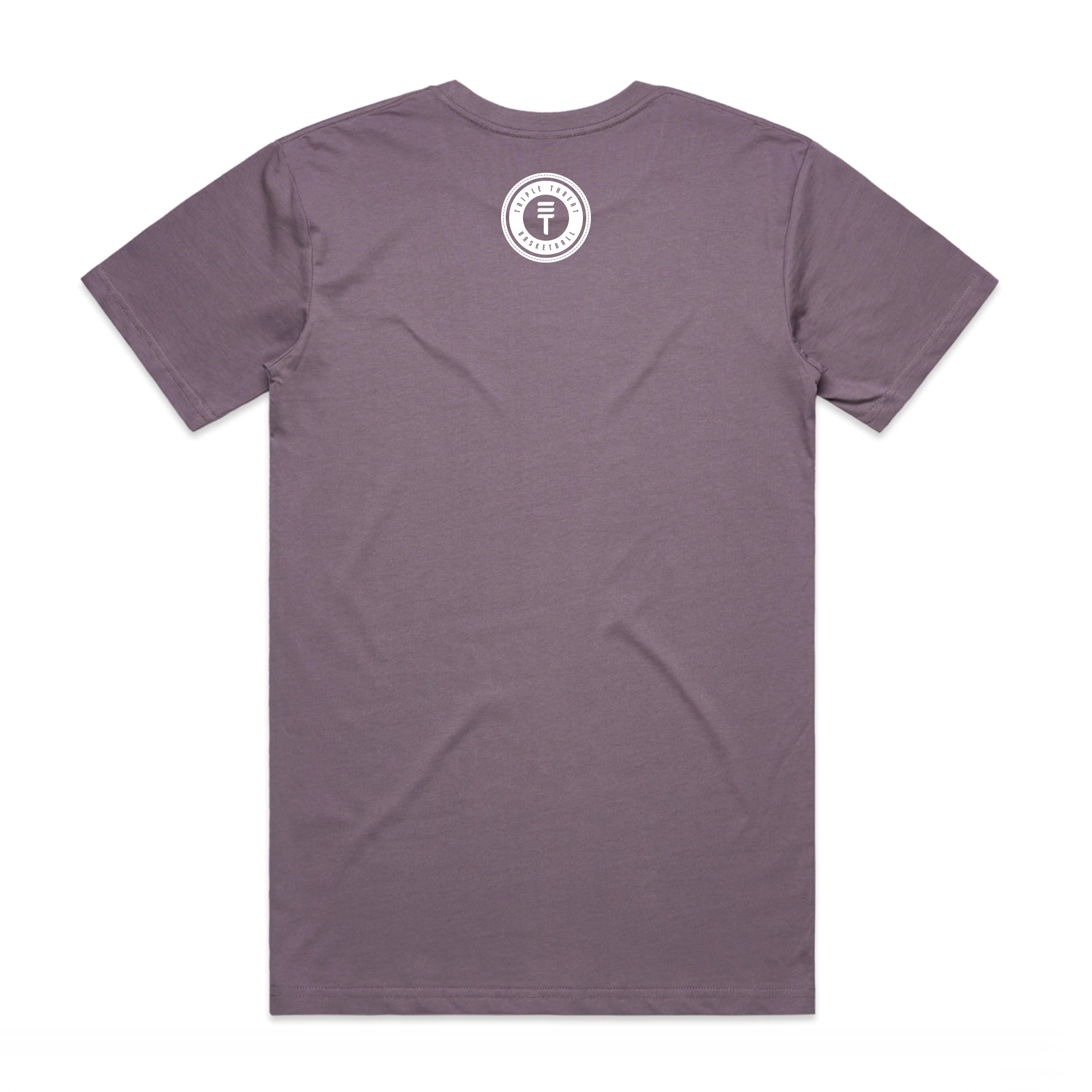 DOTTED T LOGO T-SHIRT - PASTLE PURPLE