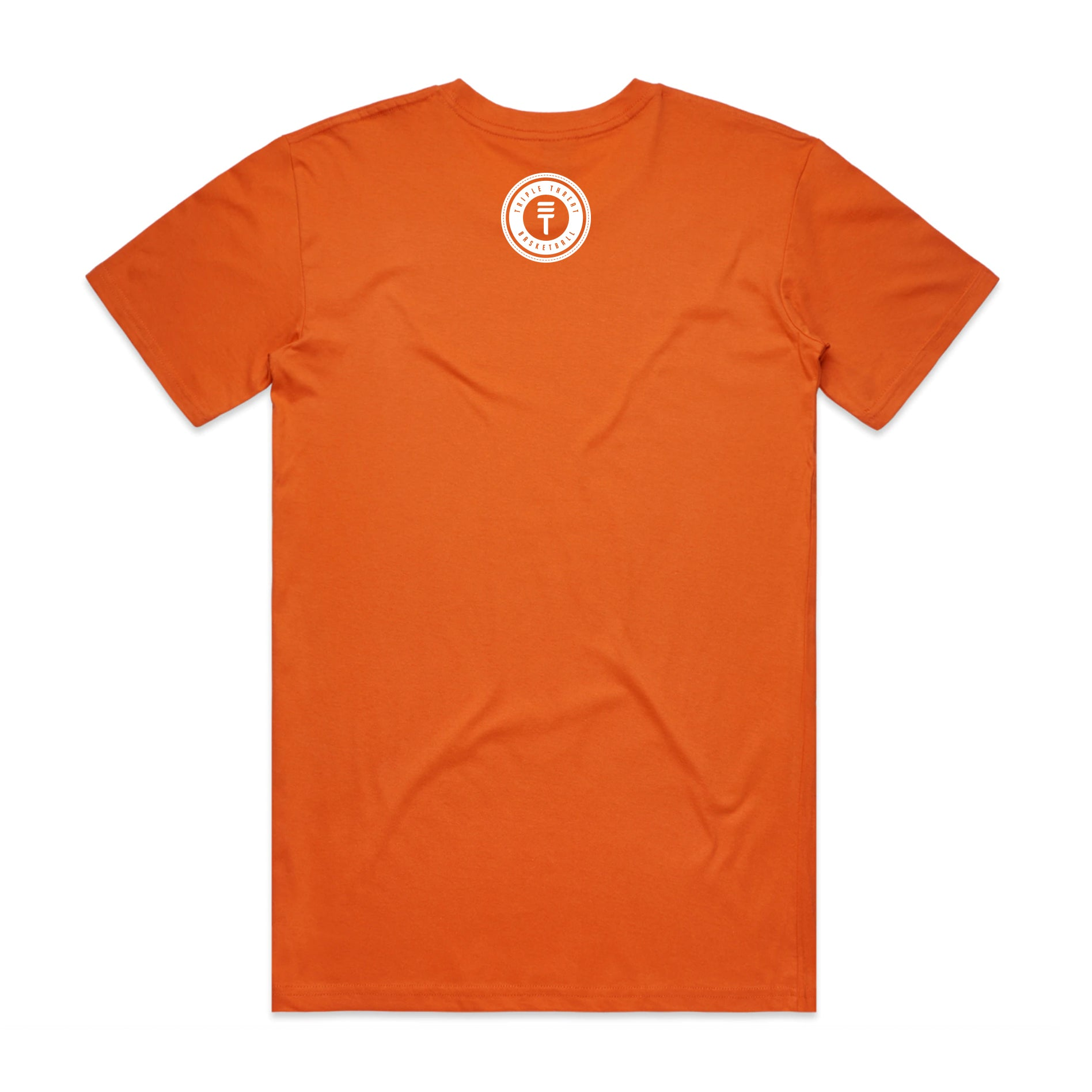 HERITAGE LOGO T-SHIRT - ORANGE