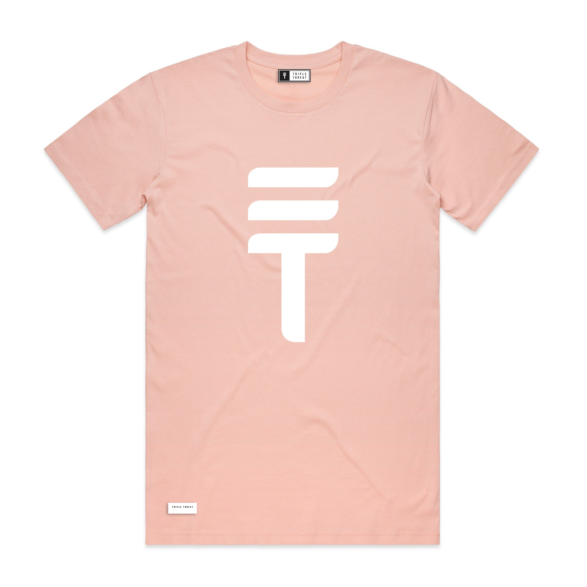 BIG LOGO T-SHIRT - PALE PINK