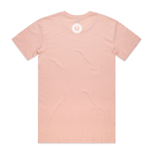 FLAG T-SHIRT - PALE PINK