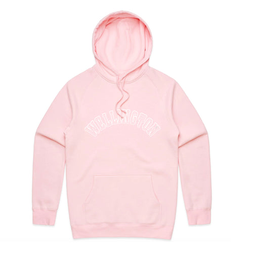 WELLINGTON MID WEIGHT HOODIE - PINK