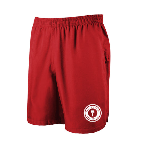 TT SHORTS - RED/WHITE