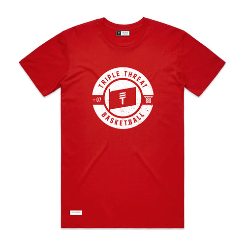FLAG T-SHIRT - RED