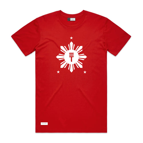 RISE T-SHIRT - RED