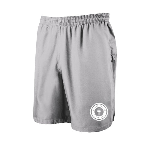 TT SHORTS - GREY/WHITE