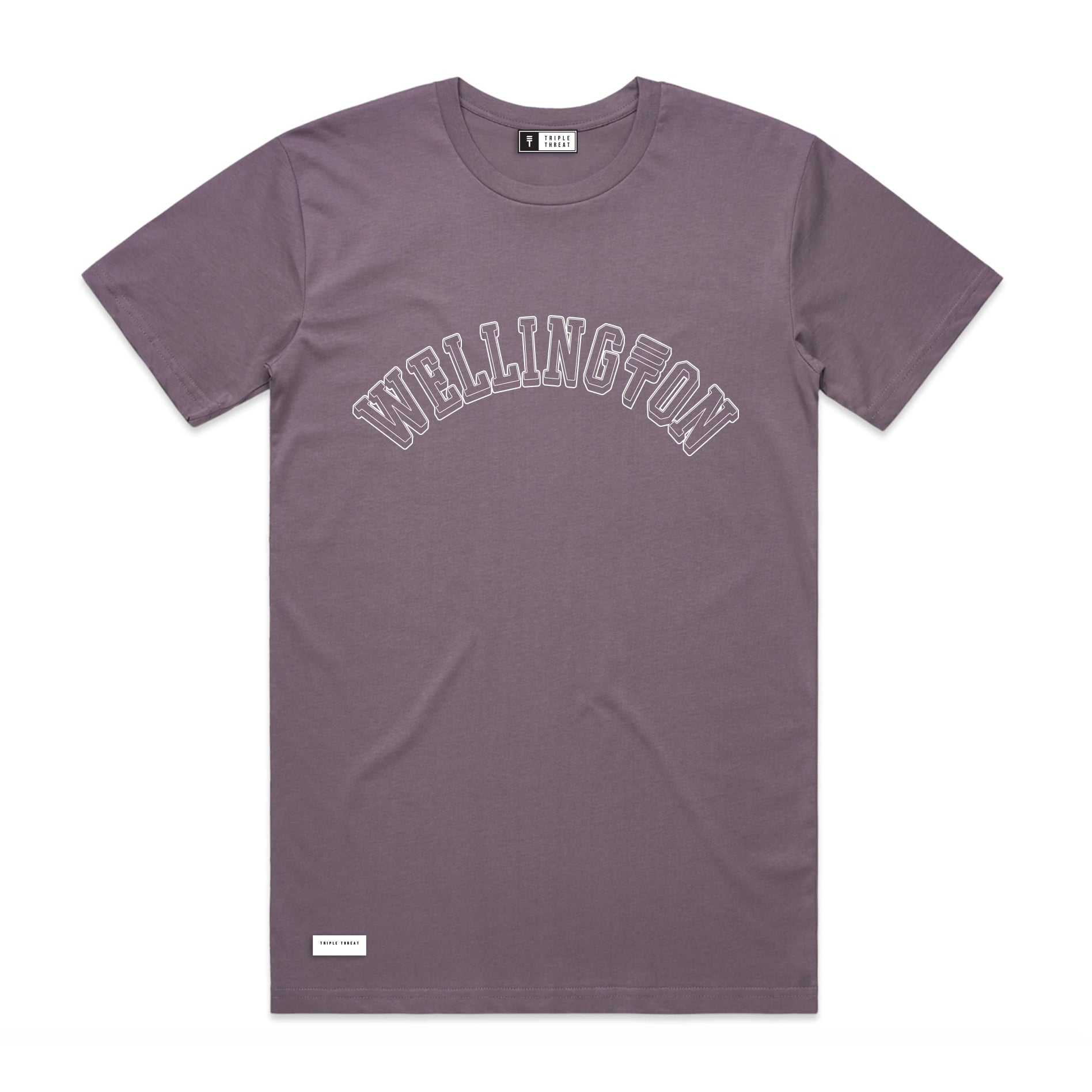 WELLINGTON T-SHIRT - PASTEL PURPLE