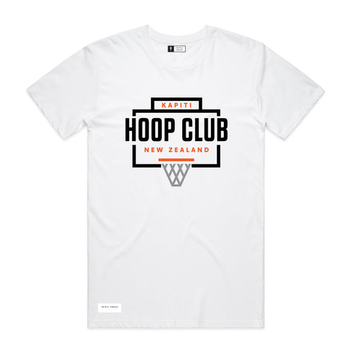 HOOP CLUB T-SHIRT - WHITE
