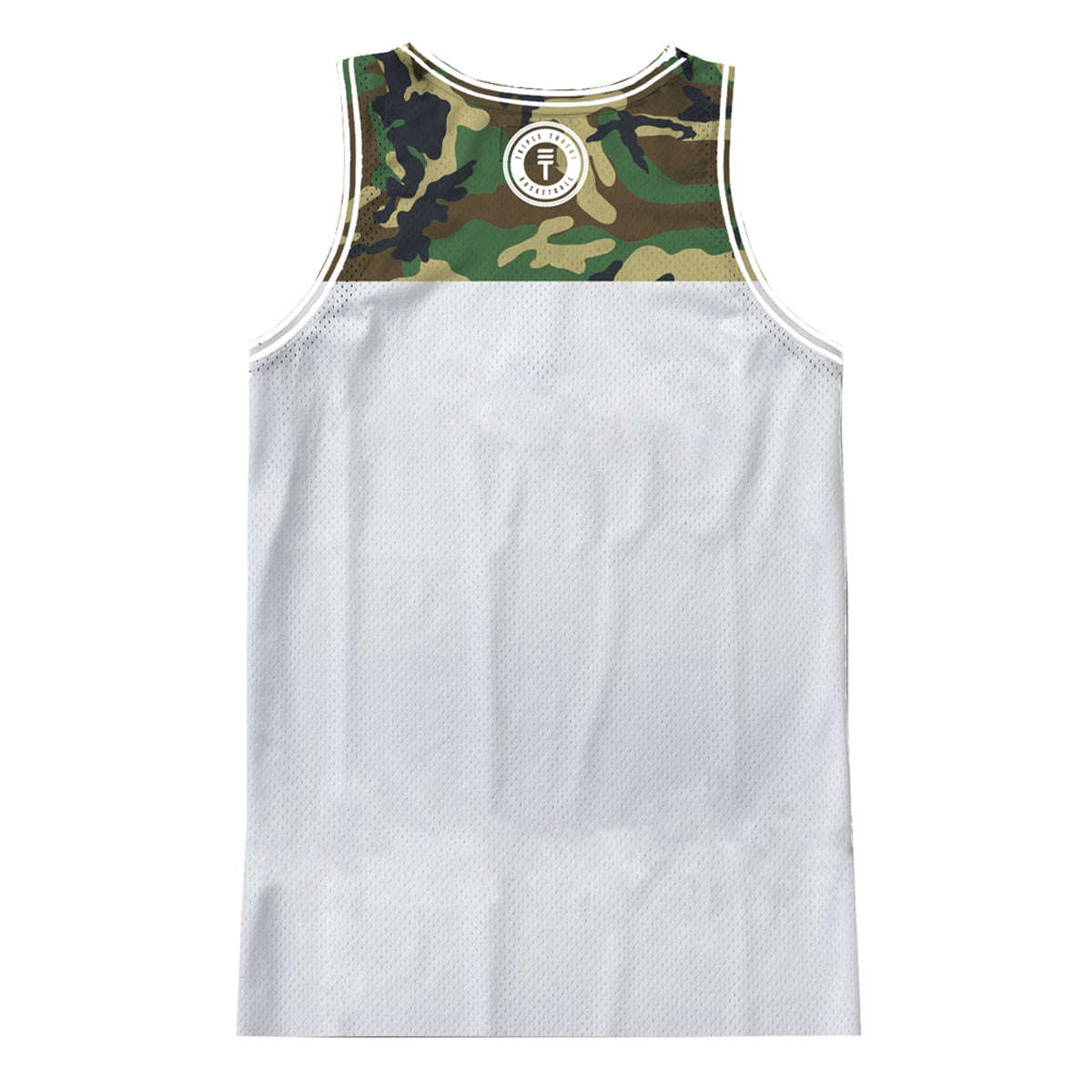 CAMOUFLAGE SINGLET - WHITE
