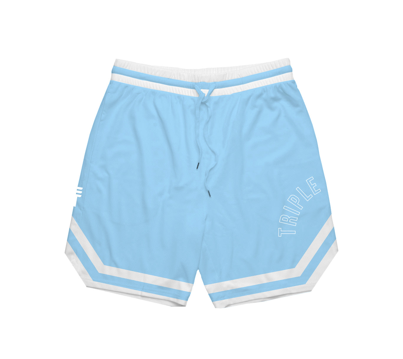 TRIPLE THREAT OG SHORTS - LIGHT BLUE
