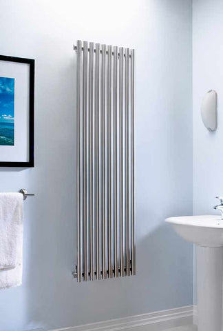 Accuro Korle Impulse Luxury Stainless Steel Designer Radiator