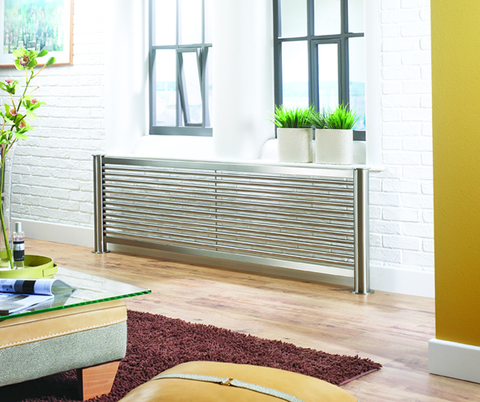 Accuro Korle Mariner Brushed Stainless Steel Luxury Designer Radiator