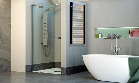 Accuro Korle Umbra Luxury Stainless Steel Designer Towel Radiator
