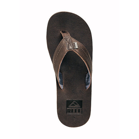 Reef We Heart Leather Dark Brown Sandals