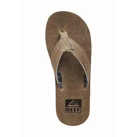 Reef We Heart Leather Fossil Sandals