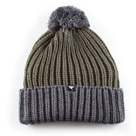 Merino Wool Bobble Hat