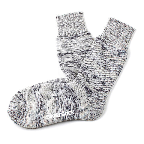Natural wool hiking sock