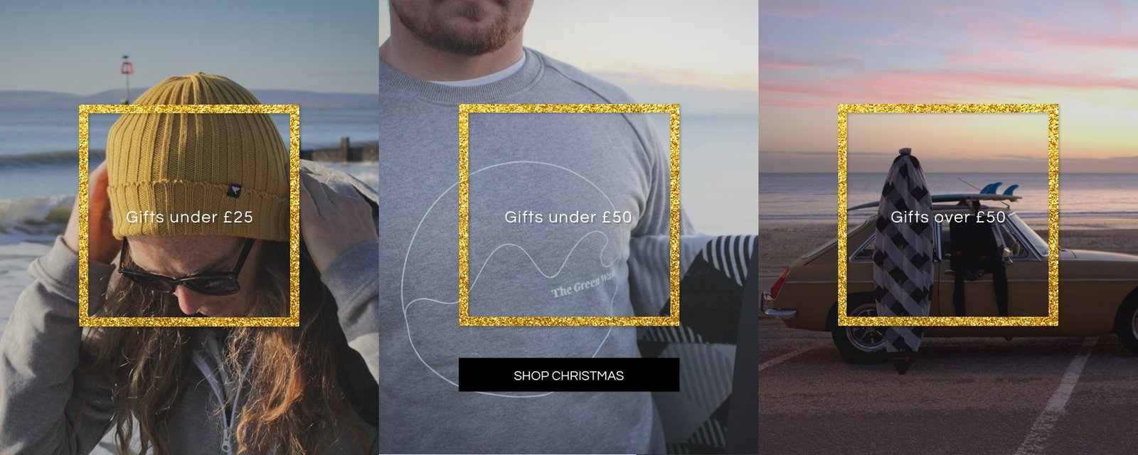 The Green Wave Christmas shop