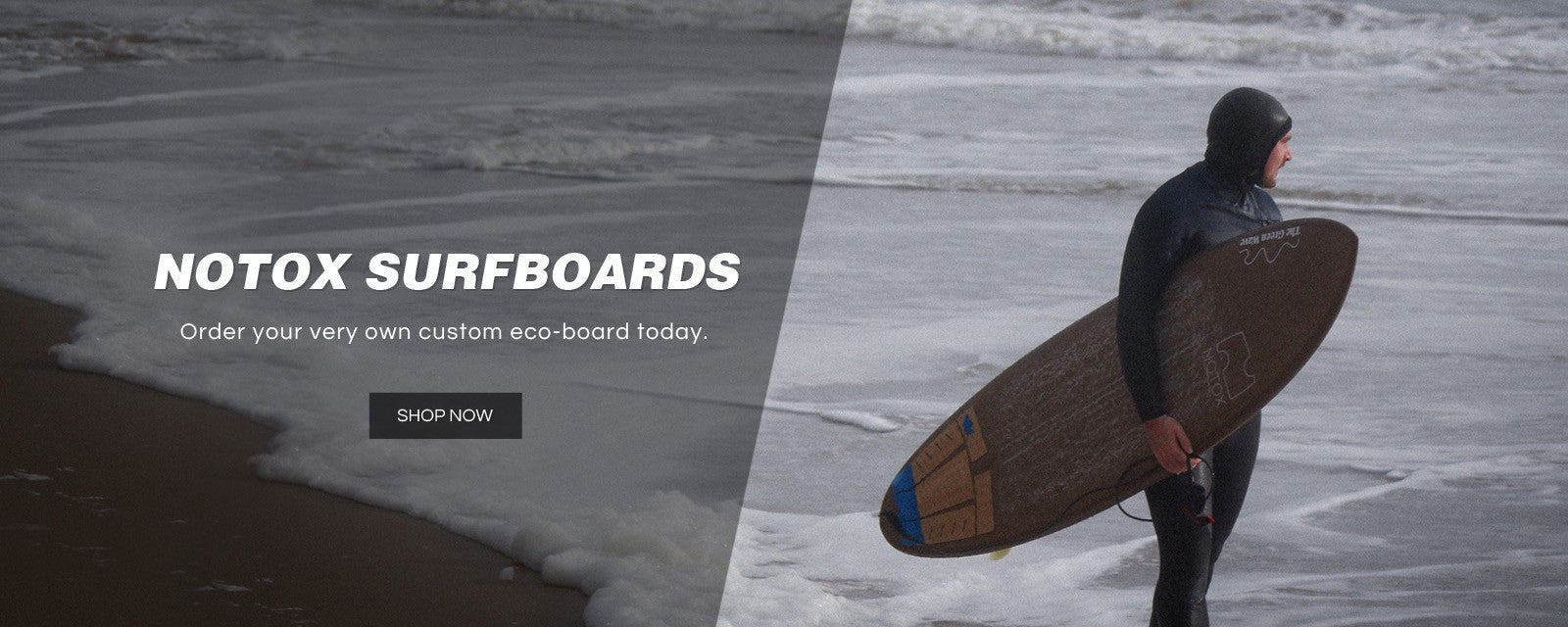 NOTOX Eco-friendly Surfboards - The Green Wave is UK Official Distributor