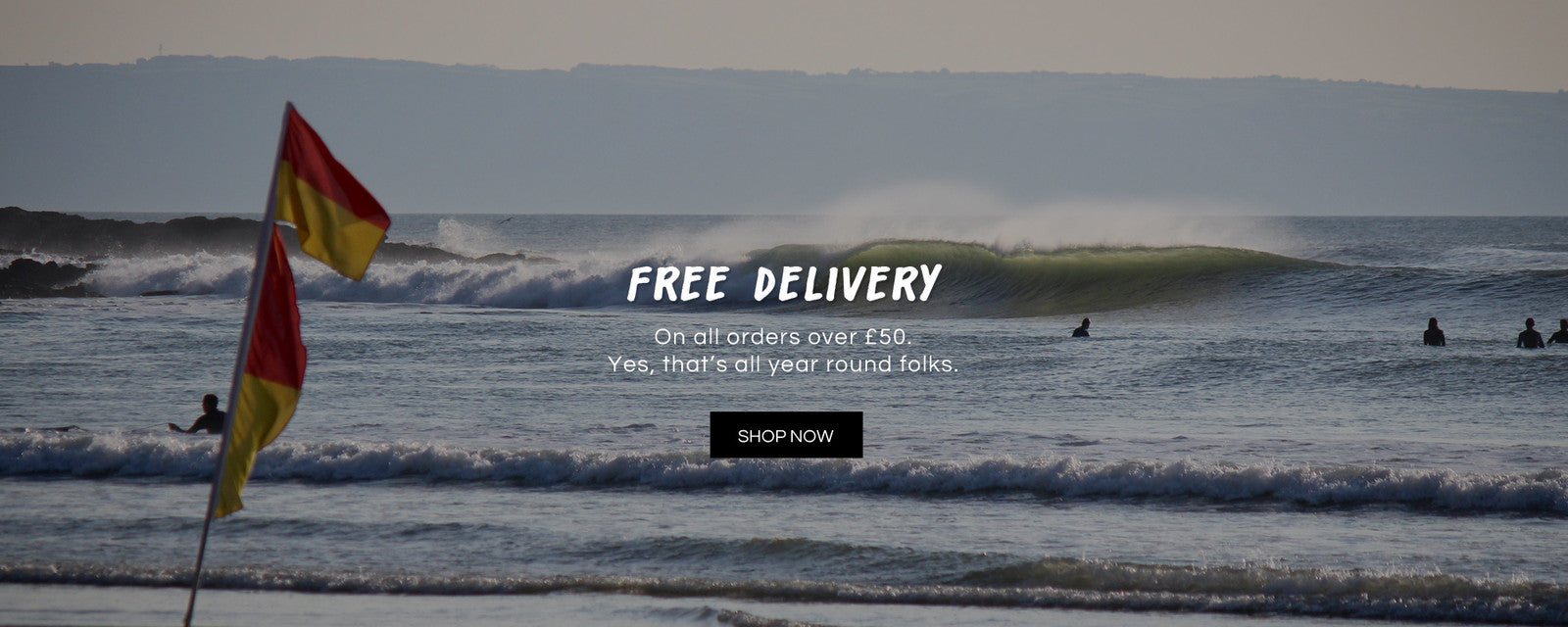FREE delivery on The Green Wave eco surf shop
