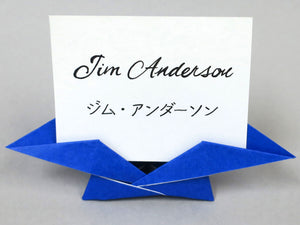 ORIGAMI PLACE CARDS & HOLDERS