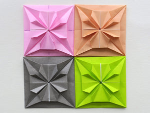 new design for origami square tiles