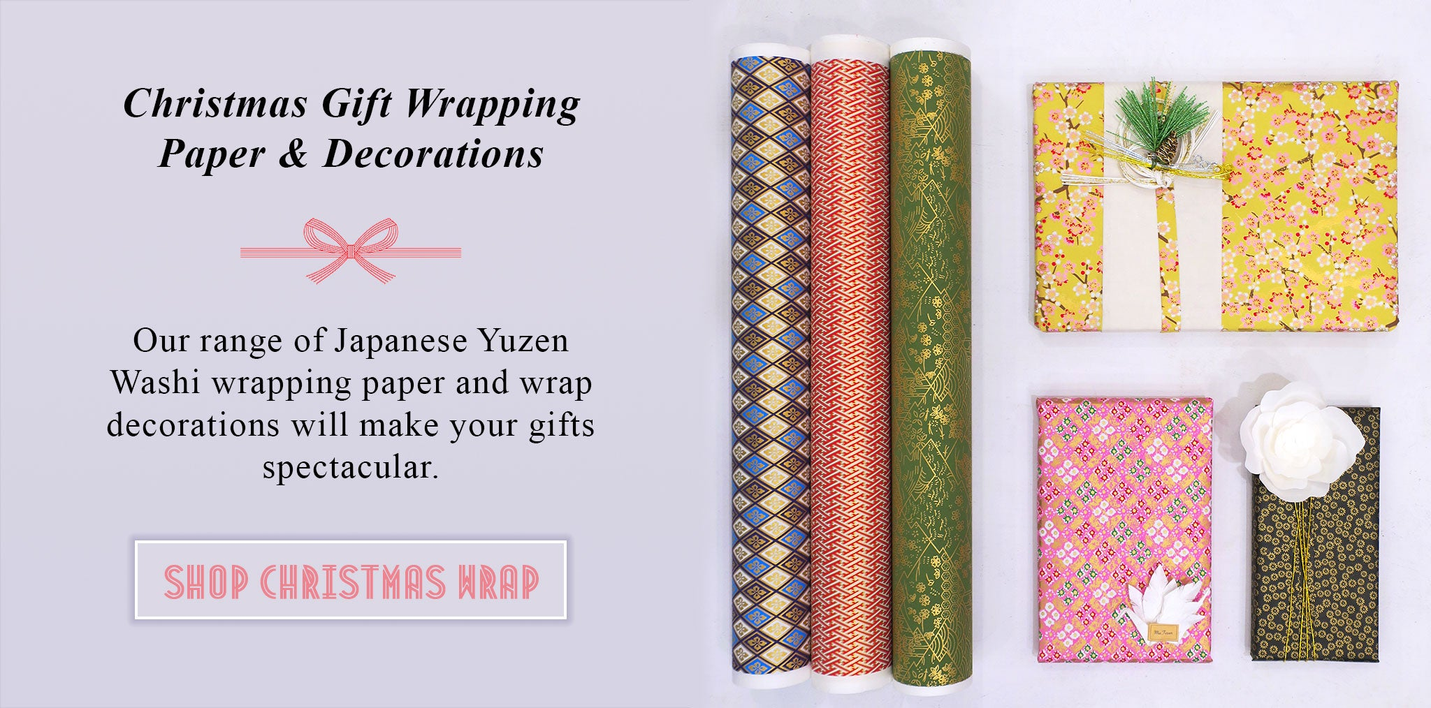 Christmas Gift Wrapping Paper and Decorations - Japanese Decorative Paper