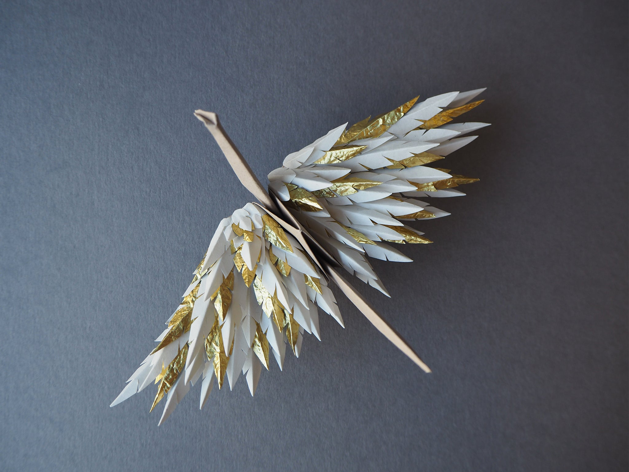 Custom Origami Feathered Cranes London