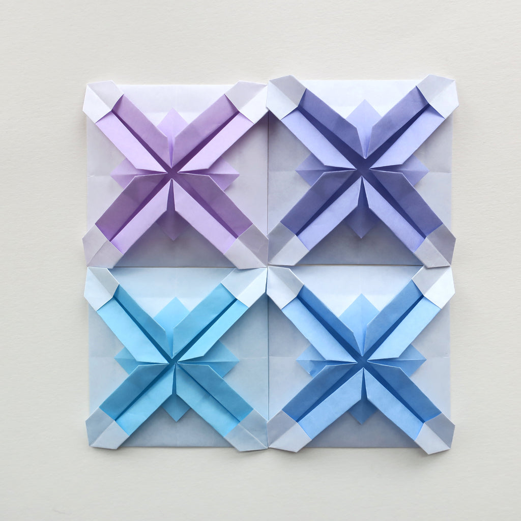 Origami Mosaic Tiles