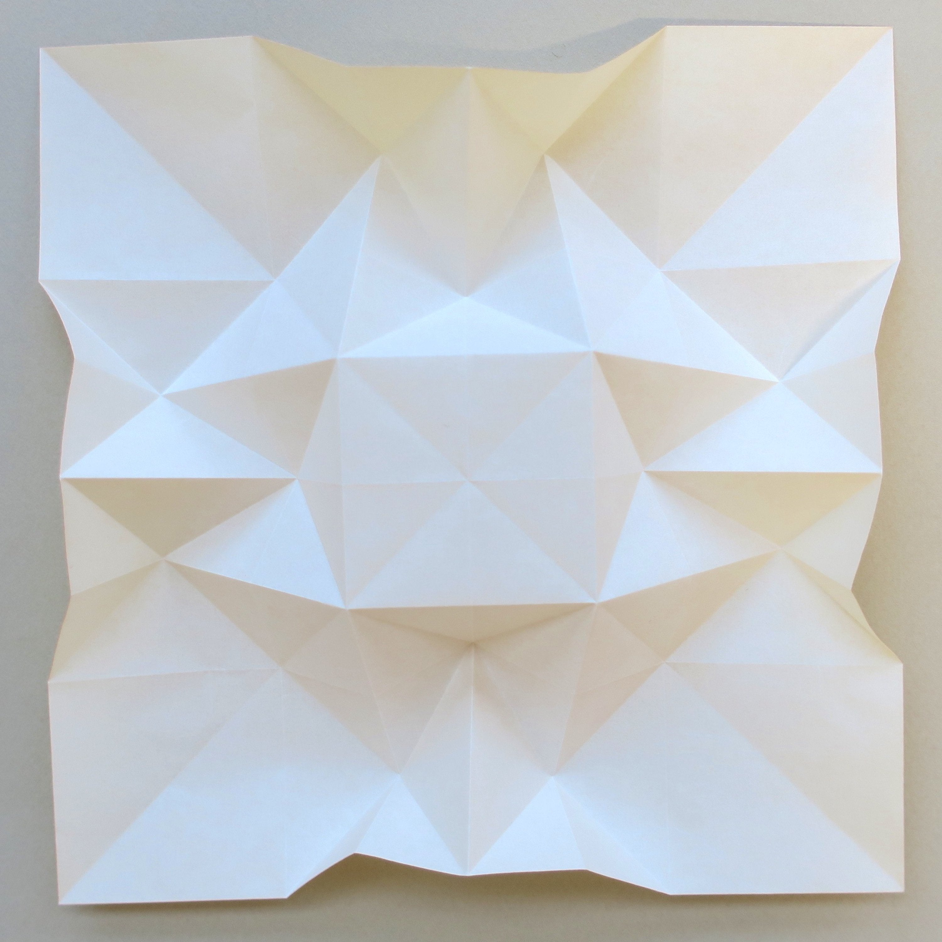 Wall Sculpture-3D Wall Art-Origami-White Paper Relief | Etsy | 2999x2999