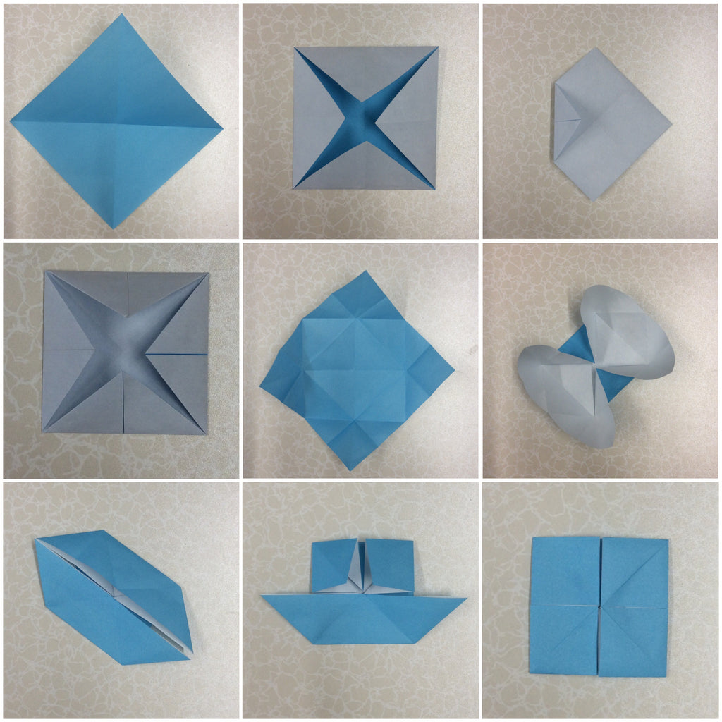 Origami Mosaic Tiles Tutorial