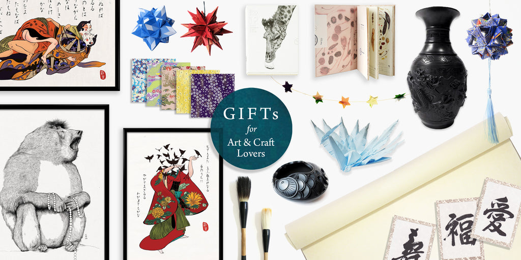 Gifts for art craft lovers London UK